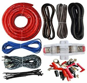 soundbox connected 4 gauge amp kit amplifier install wiring complete rh ebay com
