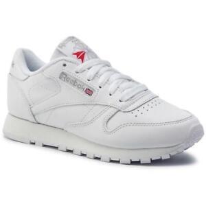 SCARPE-Reebok-Sneaker-Classic-Donna-Bianca-2232-total-white-pelle
