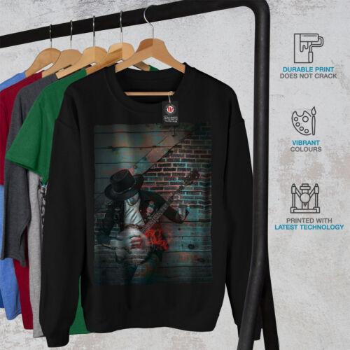 Noir Art Nouveau Street Sweatshirt Graffiti Hommes Music c4qR3L5Aj