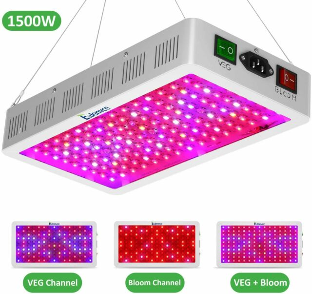 Yehsence 1000w Led Grow Light With Bloom And Veg Switch 15w Led Triple Chips For Sale Online Ebay