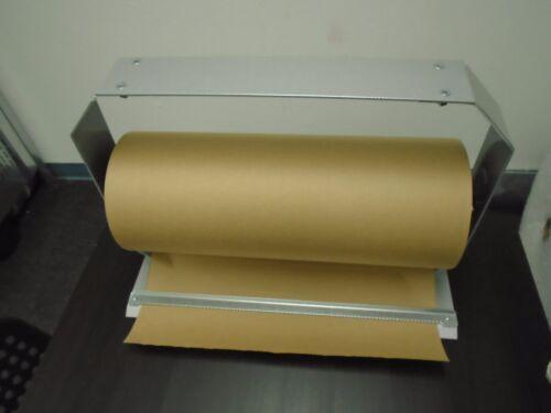 Holder dispenser stretch film kraft wrap paper 18 inch masterpunching