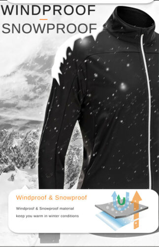Winter Herren Radtrikotset Winddicht Regendicht Fahrradtrikot Gel Pad Hose
