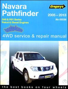 nissan pathfinder shop manual service repair book haynes chilton rh ebay com DIY Car Repair Manuals gregory's automotive repair manuals