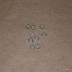 6mm-Aluminum-Crush-Washer-LOT-Moto-Guzzi-Ducati-Honda-Yamaha-Harley-BMW