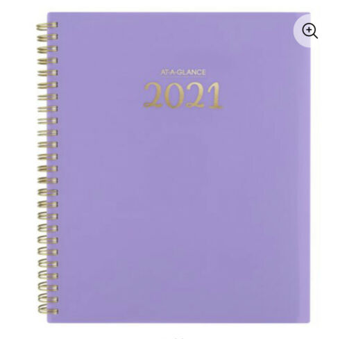 """AT-A-Glance Hermony Weekly Monthly 13 Moths Planner 2021 7.75/""""X8.75/"""" you pick"""