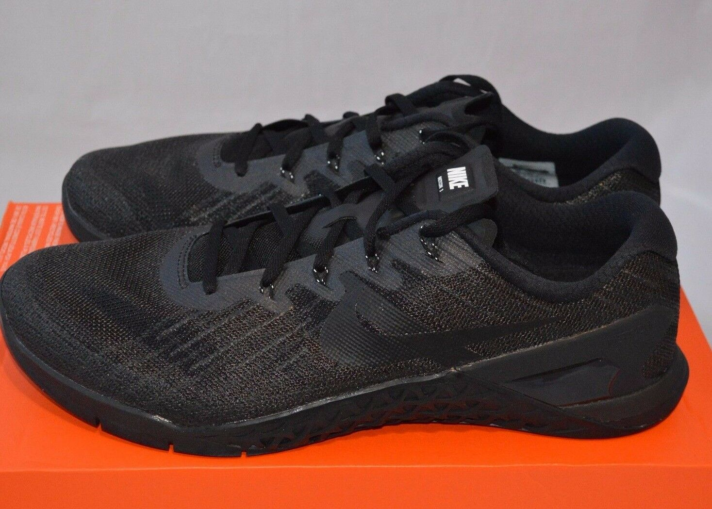NIKE METCON 3 TB MEN'S TRAINING SHOE [SIZE 13] BLACK/BLACK 898055-003