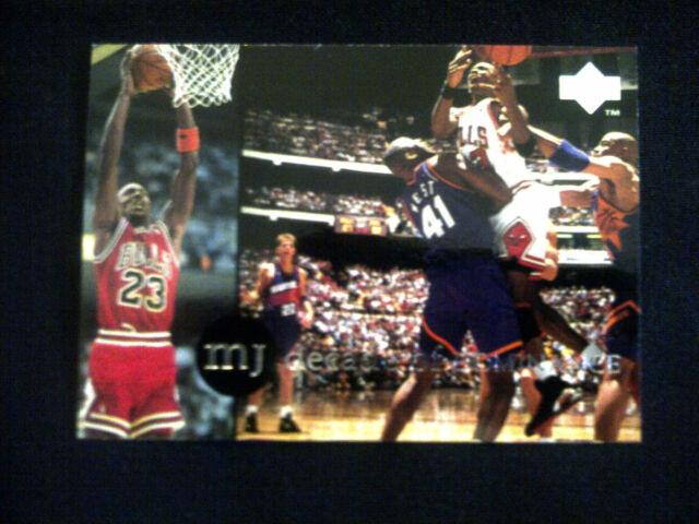 MICHAEL JORDAN RARE AIR #73 DECADE OF DOMINANCE CARD 1994 UPPER DECK