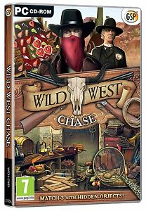 Wild-West-Chasse-PC-CD-Neuf-Scelle-Hidden-Object-Puzzle