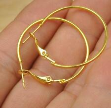 14PCS Fashionable glamour Tibet silver antique gold/gold plated earring 25MM