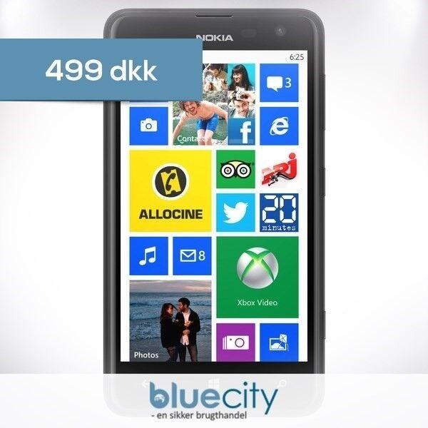 Nokia Nokia Lumia 625, Sort, Nokia Lumia 625