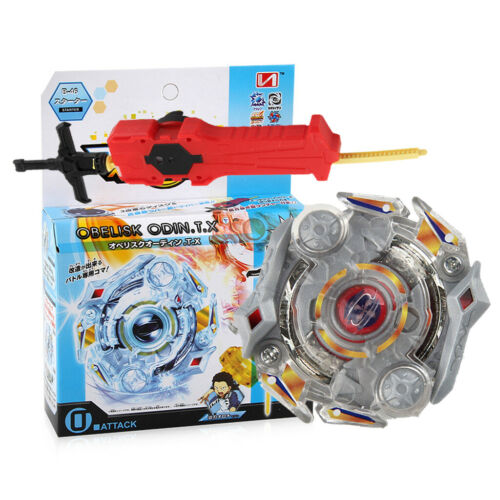 Rapidity Fight Obelisk Odin T.X Booster B-46 Burst Spinning Top Launcher Toy