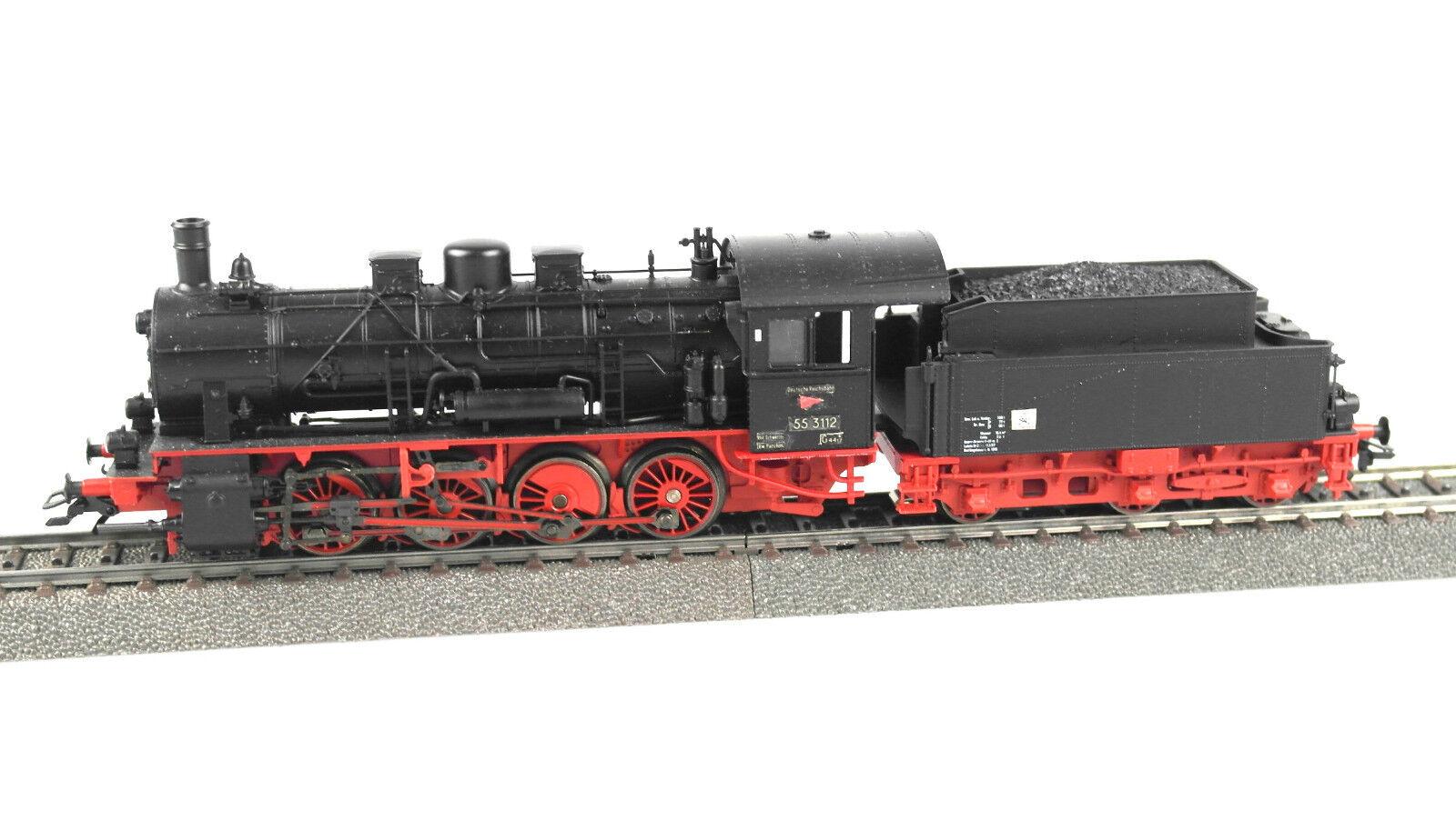 h0 29840 STILO TENDER-Locomotiva BR BR BR 55, DB, Ep. III, mfx, audio, lettura 0a1675