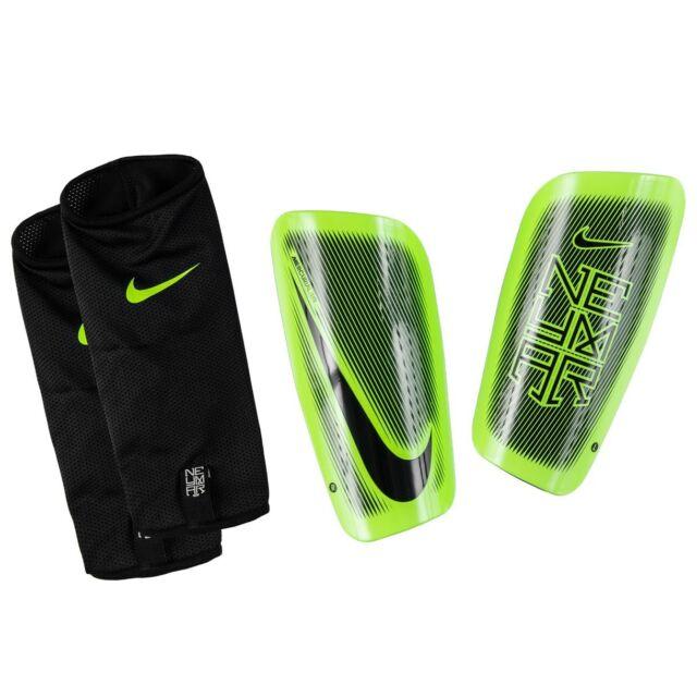 Nike Mercurial Lite Neymar JR 2016 - 2017 Shin Guard Slip Shield Black    Green fc0f65027