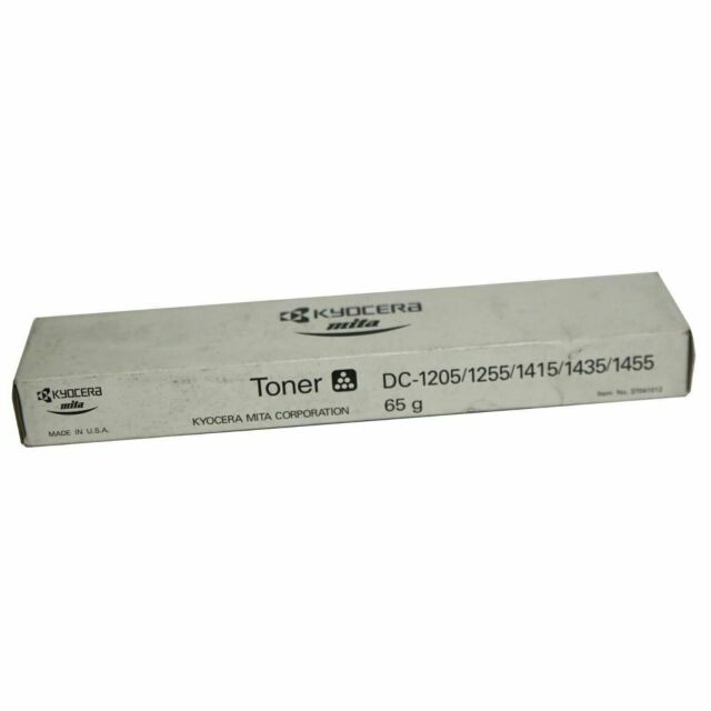 NEW Genuine Kyocera 37041012 BLACK Copier Toner DC-1205/1255/1415/1435/1455