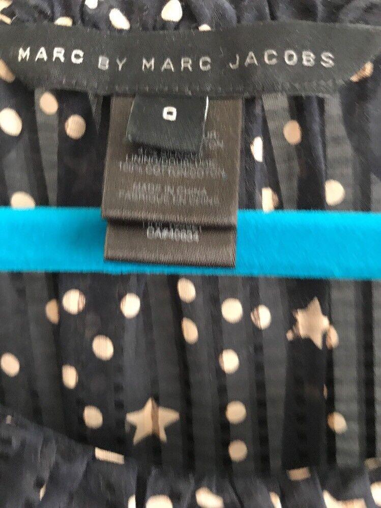 MARC By Mark Jacobs Dress Größe 0 Stars & Polka Dots Sleeveless XS