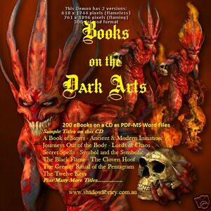 Details about CD - 200 Books on the Dark Arts - Demonology - Satanism -  Magic (Re-Sell Rights)