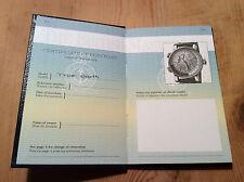 New - ARNOLD & SON True North Platinum - Passport Operating Instructions
