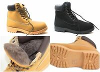 Herren Schuhe Stiefel Stiefelette Boots Outdoor Winterstiefel Gefüttert 36-45