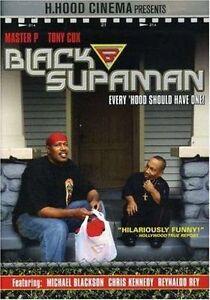 Black-Supaman-DVD-2007-2-Disc-Set-Bonus-CD-New-Tony-Cox-Master-P