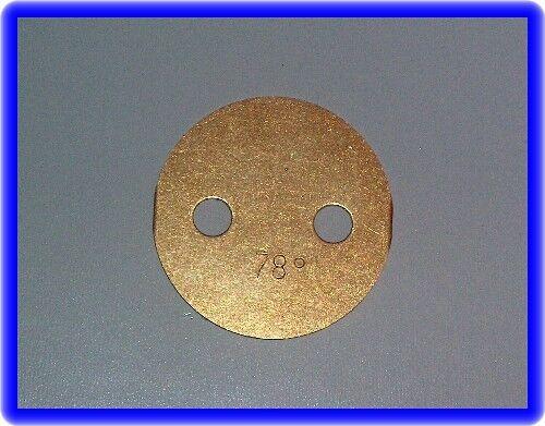 Drosselklappe Weber Vergaser:32 DIR,DGAV,DGAS usw.78°