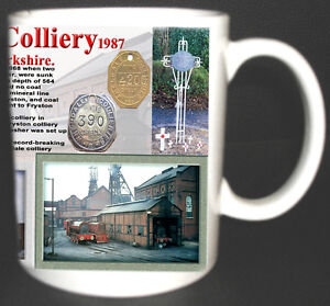 WHELDALE-COLLIERY-COAL-MINE-MUG-LIMITED-EDITION-GIFT-MINERS-YORKSHIRE-PIT