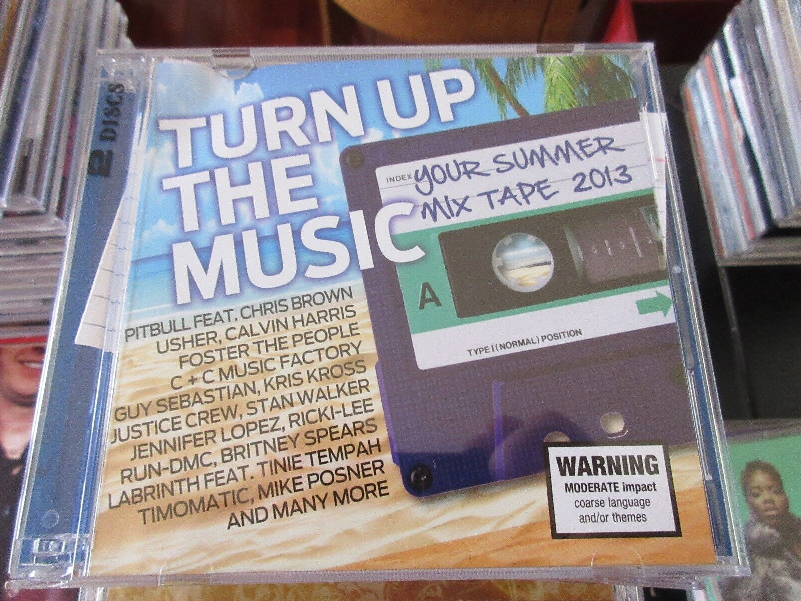 Turn Up The Music , Your Summer Mix Tape 2013 , CD