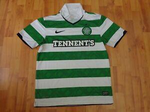 Classic Glasgow Celtic 2010-2012 da uomo M Medium FOOTBALL NIKE MAGLIETTA