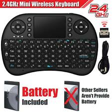 Mini Wireless USB Keyboard Keypad Mouse For Samsung Smart TV Box PC Laptop UK