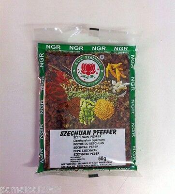 Angebot: 50g Szechuan Pfeffer ganz Seschuanpfeffer Szechuanpfeffer Anispfeffer