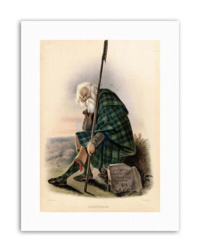 HIGHLAND CLAN SCOTLAND TARTAN FARQUHARSON Painting Portrait Canvas art Prints