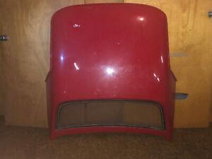 Fiberglass-Corvette-Convertible-Hardtop-1968-75-C3-Used-Skin-Unit-Orange