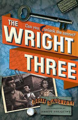 Balliett, Blue, The Wright Three, Very Good Book