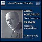 Grieg, Schumann: Piano Concertos (2006)