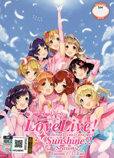 anime dvd love live sunshine season 2 episode 1 13 end eng sub