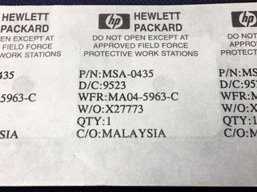 Hewlett Packard MSA-0435 AMPLIFICATORE RF