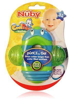 Nuby Coolbite Icy Cool Pals Infant Massaggiatore Teether 3 Mesi + Divertente E Colorata-mostra Il Titolo Originale