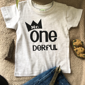 Image Is Loading Mr Onederful Boys First Birthday Outfit 1st