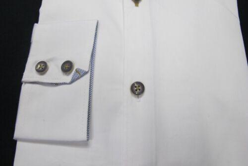 Authentic Style Vintage NO EXCESS Chemise manches longues Blanc Prix Recommandé 59,95 €