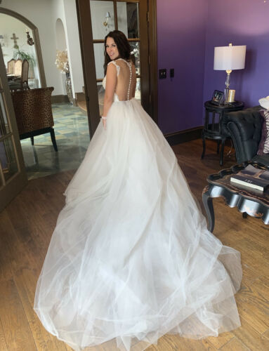 Berta Bridal Wedding Dress Overskirt (Not Dress)