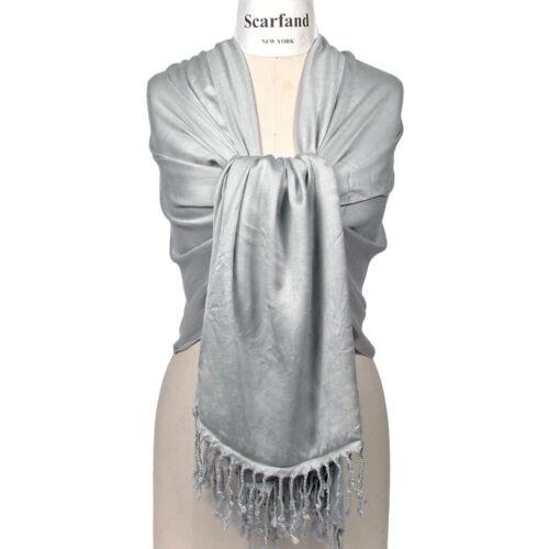 Wrap Stole Scarfand/'s Super Soft Solid Color Pashmina Shawl