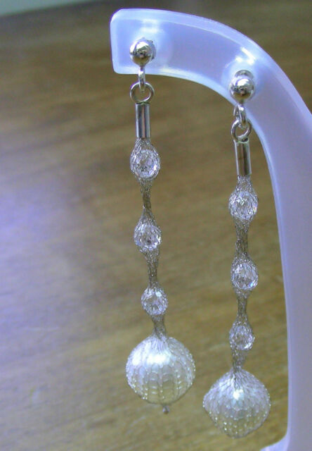 ITALIAN 18ct GOLD EARRINGS +11mm!! WHITE SOUTH SEA PEARLS 100% UNTREATED +CERT