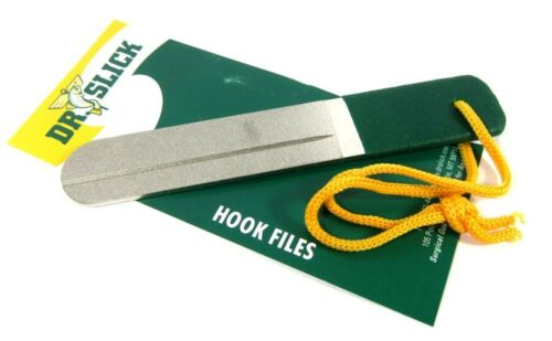 4 or 6 inch Fly Fishing Diamond 2 sided DR SLICK HOOK FILE