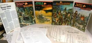 GDW-Boxed-ROLE-PLAYING-WAR-GAME-Twilight-2000-3-Modules-Many-XTRAs-Complete-1st