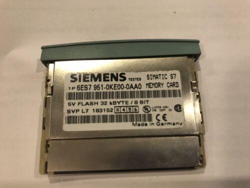 Siemens S7 Tarjeta de memoria flash MC951 6ES7 951-0KE00-0AA0 32 bits 8 Bits