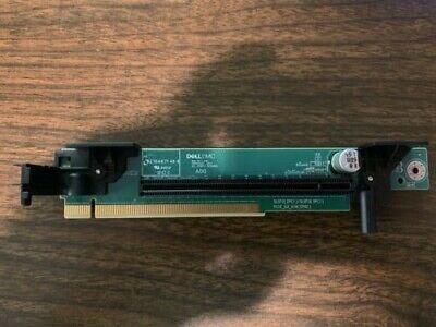 New Dell PowerEdge R640 Riser 2 Card 1 x PCI-E X16 for 2nd CPU DPN W6D08 P7RRD