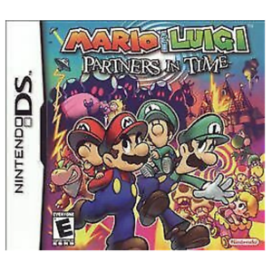 Mario & Luigi: Partners In Time Game Card for Nintendo DS 2DS 3DS
