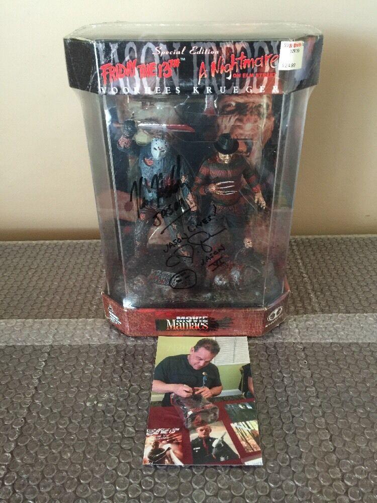 McFarlane Movie Maniacs Special Edition JasonVoorhees FROTdy Krueger Kane Hodder