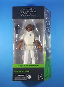 "ADMIRAL ACKBAR #01 Star Wars ROTJ The Black Series 6"" Action Figure MIB"