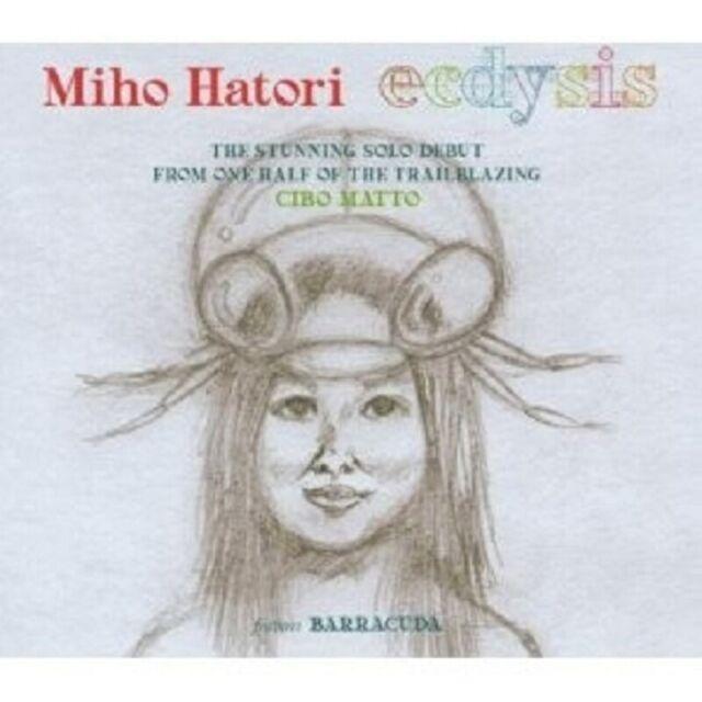 MIHO HATORI - ECDYSIS CD DISCO/DANCE 11 TRACKS NEU