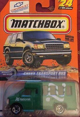 National Parks Matchbox B1 Blaze Blaster
